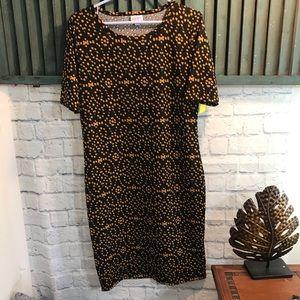 LulaRoe Julia Dress size Large
